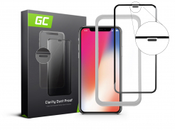 Szkło hartowane Dust Proof Green Cell GC Clarity do telefonu Apple iPhone X/XS + aplikator