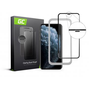 Szkło hartowane Green Cell Dust Proof GC Clarity do telefonu Apple iPhone 11 Pro + aplikator