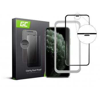 Szkło hartowane Green Cell Dust Proof GC Clarity do telefonu Apple iPhone 11 Pro Max + aplikator