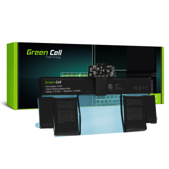 Bateria Green Cell A1437 do Apple MacBook Pro 13 A1425 (Late 2012, Early 2013)