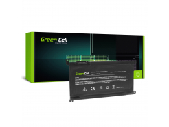 Bateria Green Cell WDX0R WDXOR do Dell Inspiron 13 5368 5378 5379 14 5482 15 5565 5567 5568 5570 5578 5579 7560 7570 17 5770
