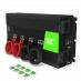 Przetwornica napięcia Inwerter Green Cell® 12V na 230V 2000W/4000W Czysta sinusoida