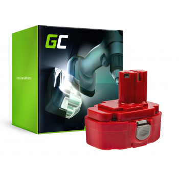 Bateria Akumulator 1822 1833 PA18 Green Cell (2Ah 18V) do Makita 4334D 6343D 6347D 6349D 6390D 8390D 8391D
