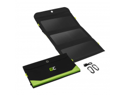 Ładowarka, panel solarny Green Cell GC SolarCharge o mocy 21W z funkcją power banka 6400mAh