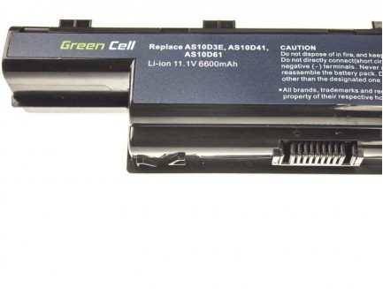 Bateria AS10D* do Acer Aspire z serii 5733 5742G 5750 5750G AS10D31 AS10D41 AS10D51 AS10D61 AS10D71 AS10D75 11.1V 9 cell