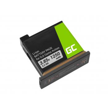 Akumulator Bateria AB1 Green Cell do DJI OSMO Action 3.85V 1250mAh