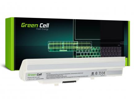 Bateria Green Cell BTY-S11 BTY-S12 do MSI Wind U90 U100 U110 U120 U130 U135 U135DX U200 U250 U270 (Biała)
