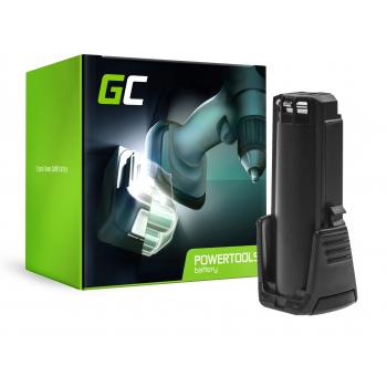 Bateria Akumulator (2Ah 3.6V) 2607336241 BAT504 Green Cell do Bosch GSR GBA 3.6 PRODRIVE Mx2Drive