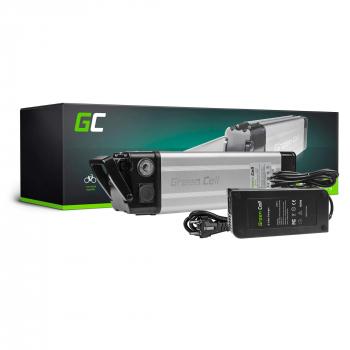 Green Cell® Bateria do Roweru Elektrycznego 36V 8.8Ah E-Bike Li-Ion Silverfish z Ładowarką