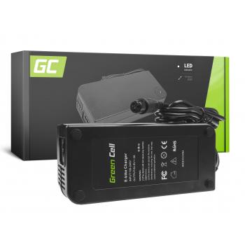 Ładowarka Green Cell 54.6V 4A (3 pin) do Baterii Roweru Elektrycznego 48V