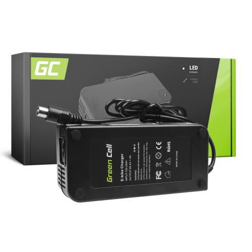 Ładowarka Green Cell 29.4V 4A (RCA) do Baterii, Roweru Elektrycznego EBIKE 24V