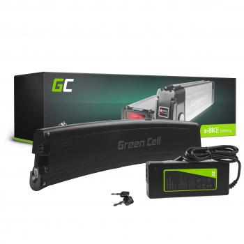 Green Cell® Bateria do Roweru Elektrycznego 36V 7.8Ah E-Bike Li-Ion Frame Type z Ładowarką