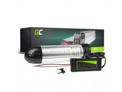Green Cell® Bateria do Roweru Elektrycznego 36V 8.8Ah E-Bike Li-Ion Down Tube z Ładowarką