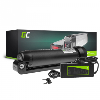 Green Cell® Bateria do Roweru Elektrycznego 24V 7.8Ah E-Bike Li-Ion Bottle z Ładowarką