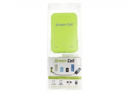 Power Bank Green Cell PB22 8400mAh zielony