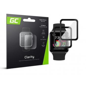 2x Szkło hartowane GC Clarity do Apple Watch 5 40mm