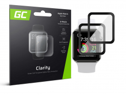 2x Szkło hartowane GC Clarity do Apple Watch 42mm