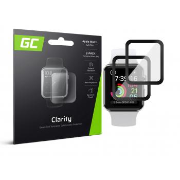 2x Szkło hartowane GC Clarity do Apple Watch 42mm