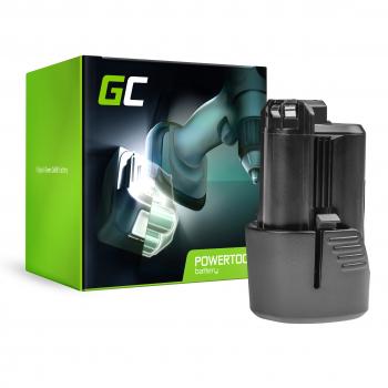 Bateria Green Cell (1.5Ah 10.8V) GBA 12V 2607336333 D-70745 2607336013 BAT414 do Bosch GAS GLI GSR 10.8V-LI 10.8V-LI