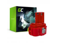 Bateria Green Cell (2Ah 9.6V) PA09 192019-4 9120 9122 9133 9134 9135 do Makita 6222D 6226D 6260D 6226DW 6226DWBE 6261D 6222DE