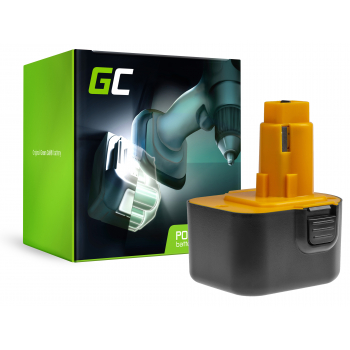 Bateria Green Cell (3Ah 12V) A9252 A9275 DE9037 DE9071 DE9074 DE9075 do DeWalt / Black&Decker KC120V KC1262F CD12C CD12CA