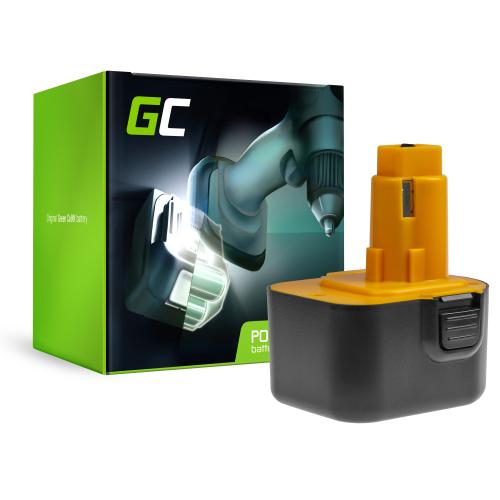 Bateria Green Cell (3Ah 12V) A9252 A9275 DE9037 DE9071 DE9074 DE9075 do DeWalt / Black&Decker KC120V KC1262F CD12C CD12CA