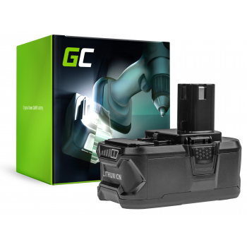 Bateria Green Cell (5Ah 18V) ONE+ P108 RB18L13 RB18L15 RB18L20 RB18L25 RB18L50 do RYOBI BCL14181H R18DD3 R18IW3 R18IW3-0