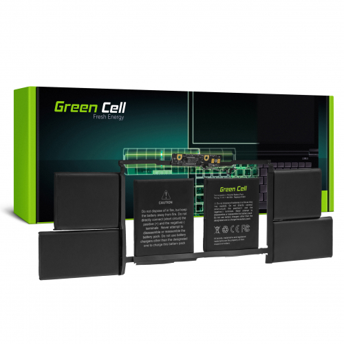 Bateria Green Cell A1820 do Apple MacBook Pro 15 A1707 (2016 i 2017)