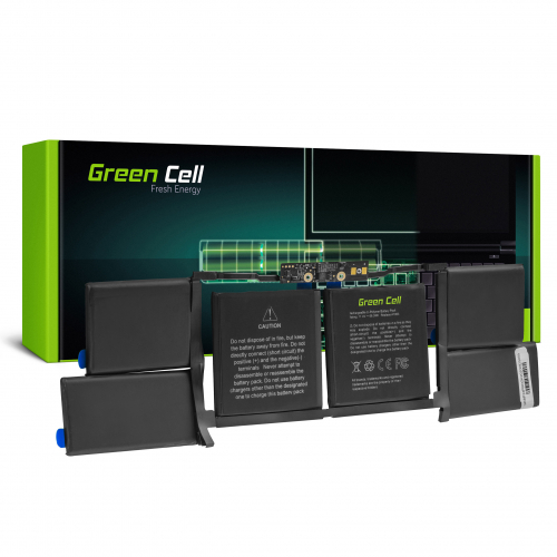 Bateria Green Cell A1953 do Apple Macbook Pro 15 A1990 (2018 i 2019)