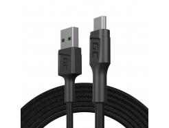 Kabel Przewód Green Cell GC PowerStream USB - Micro USB 200cm szybkie ładowanie Ultra Charge, QC 3.0