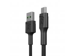 Kabel Przewód Green Cell GC PowerStream USB - Micro USB 30cm szybkie ładowanie Ultra Charge, QC 3.0