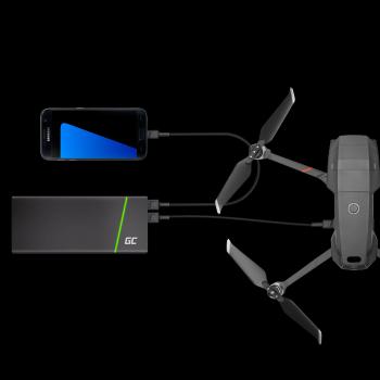 Kabel Przewód Green Cell GC PowerStream USB - Micro USB 120cm szybkie ładowanie Ultra Charge, QC 3.0
