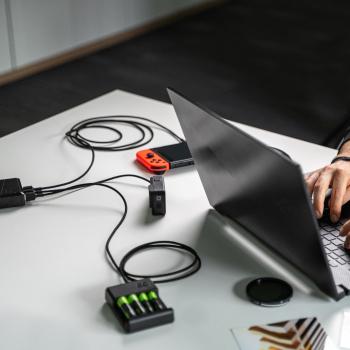 Kabel Przewód Green Cell GC PowerStream USB - USB-C 30cm szybkie ładowanie Ultra Charge, QC 3.0