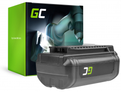 Bateria Green Cell (3Ah 36V) 5133002166 BPL3626D2 BPL3650 BPL3650D OP4026 RY36B60A do Ryobi RY40200 RY40403 RY40204 RY40210