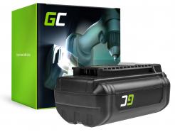 Bateria Green Cell (6Ah 36V) 5133002166 BPL3626D2 BPL3650 BPL3650D OP4026 RY36B60A do Ryobi RY40200 RY40403 RY40204 RY40210