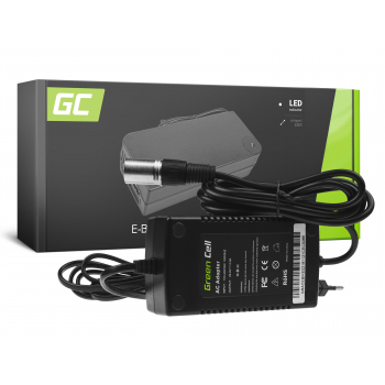 Ładowarka Green Cell 29.4V 2A (Cannon) do Baterii Akumulatorów Roweru Elektrycznego 24V