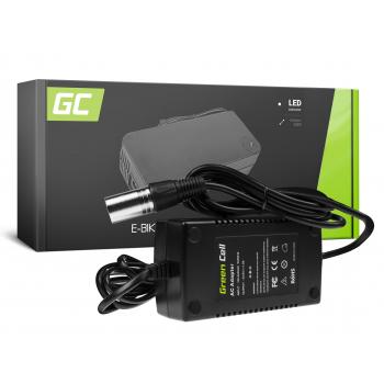 Ładowarka Green Cell 54.6V 1.8A (XLR 3 PIN) do Baterii Roweru Elektrycznego 48V