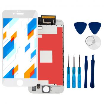 Wyświetlacz LCD Ekran Dotykowy do Apple iPhone 6S Biały + narzędzia