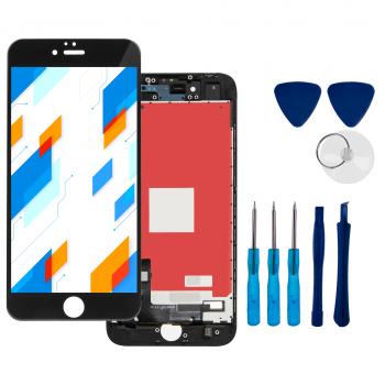 Wyświetlacz LCD Ekran Dotykowy do Apple iPhone 8 Czarny + narzędzia