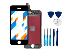 Wyświetlacz LCD Ekran Dotykowy do Apple iPhone 5 Czarny + narzędzia GRATIS