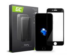 Szkło do telefonu iPhone 7 8 - Czarny
