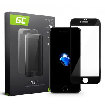 Szkło hartowane GC Clarity do telefonu Apple iPhone 7/8/SE 2020/SE 2 - Czarny