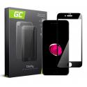 Szkło do telefonu iPhone 7 Plus, 8 Plus - Czarny