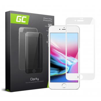Szkło hartowane GC Clarity do telefonu Apple iPhone 7 Plus / 8 Plus - Biały