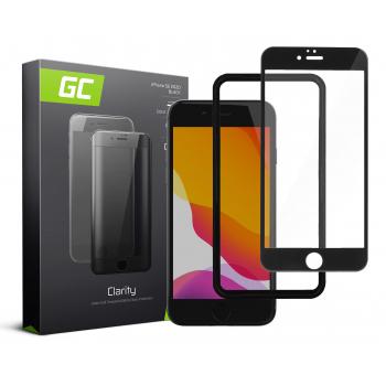 Szkło hartowane GC Clarity szybka ochronna do telefonu Apple iPhone SE (2020) - czarne