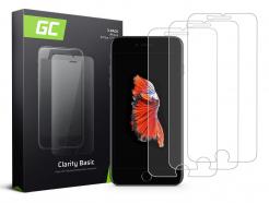 3x Szkło hartowane GC Clarity szybka ochronna do telefonu iPhone 6 Plus / 6S Plus / 7 Plus / 8 Plus