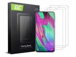 3x Szkło hartowane GC Clarity szybka ochronna do telefonu Samsung Galaxy A40
