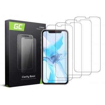 "4x Szkło hartowane GC Clarity szybka ochronna do telefonu iPhone 11 / iPhone XR (6.1"")"