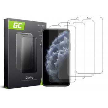 4x Szkło hartowane GC Clarity szybka ochronna do telefonu iPhone 11 Pro Max / XS Max