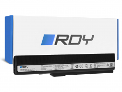 Bateria RDY A32-K52 do Asus A52 A52F A52N K42 K52 K52D K52F K52J K52JB K52JC K52JE K52JR K52N X52 X52F X52J X52N